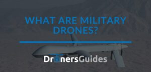 what are military drones