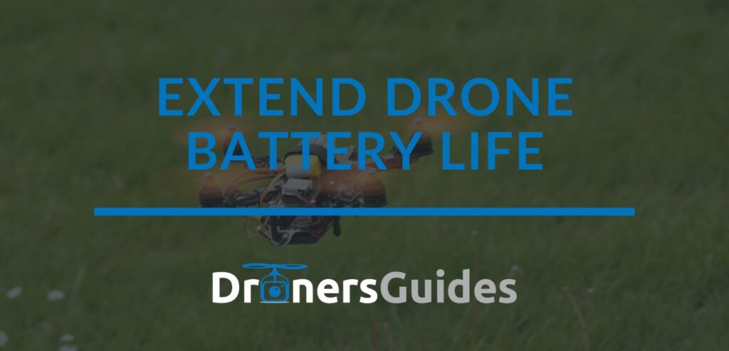 extend drone battery life