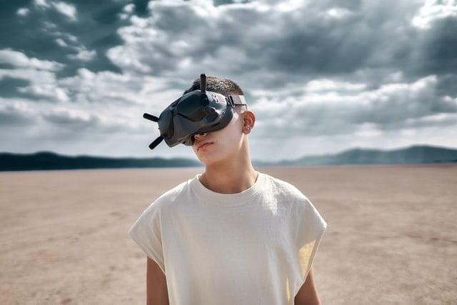 fpv drone vr goggles
