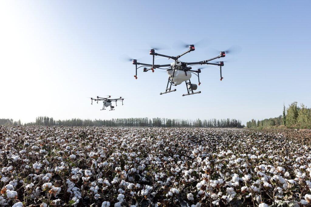 drones for farming fields
