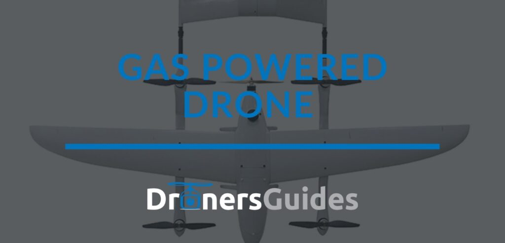 gas powered drone review