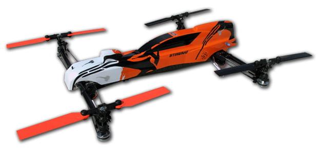 nitro stingray gasoline powered drone